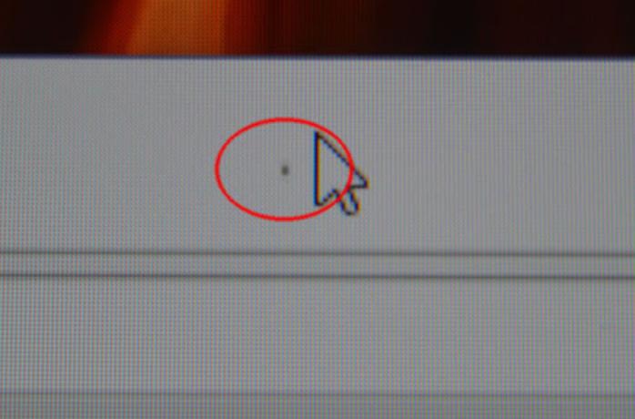 ölü piksel örnek görsel